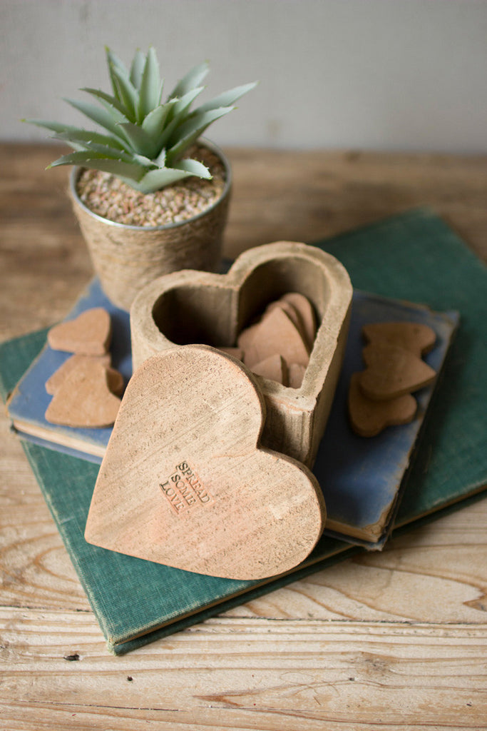 Clay Heart Box