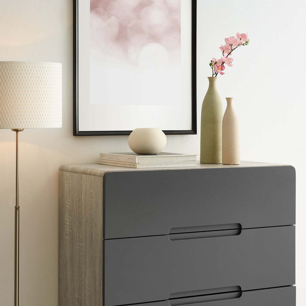 Origin Four-Drawer Chest or Stand - Natural Gray