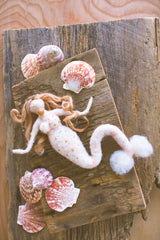 Felt Mermaid Ornament