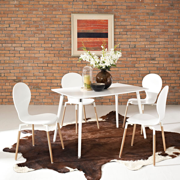 Lode Dining Table in White