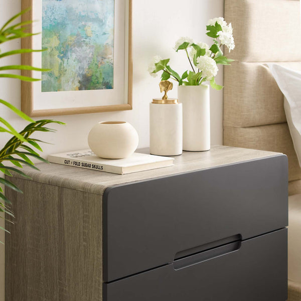 Origin Three-Drawer Chest or Stand - Natural Gray