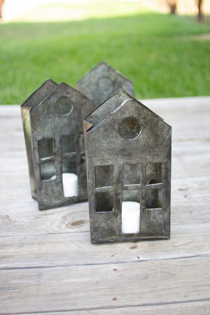 Recycled Metal House Luminary