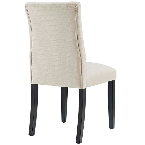 Duchess Fabric Dining Chair in Beige