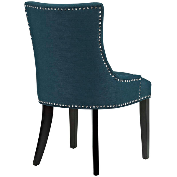 Marquis Fabric Dining Chair in Azure