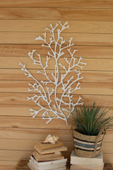 Handmade Paper and Wire Coral Wall Art