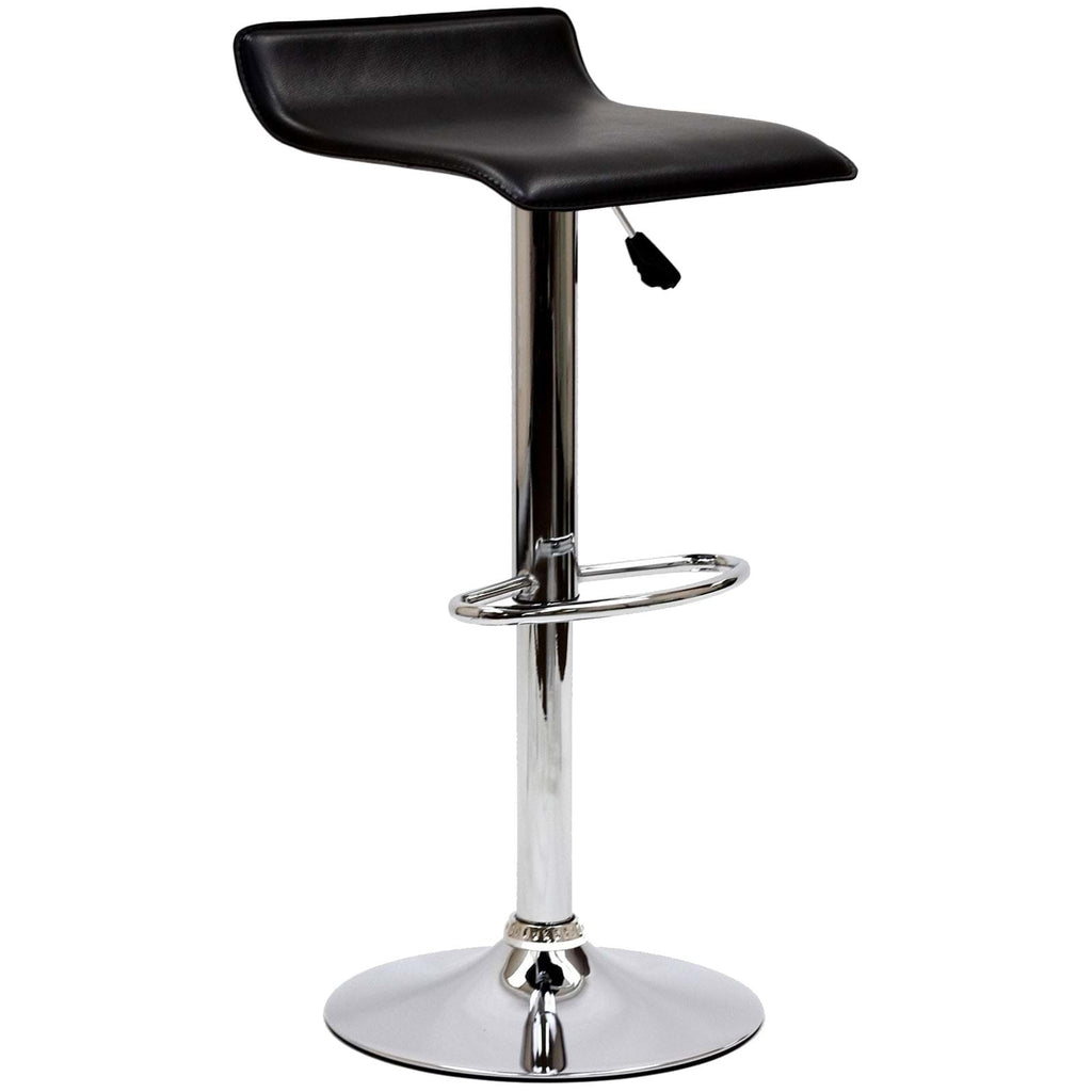 Gloria Bar Stool in Black