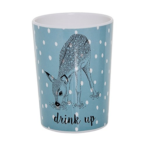 Bloomingville A47305094 Cup with Deer Multicolored