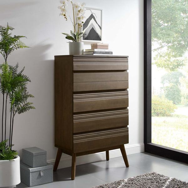 Everly Wood Chest - Walnut