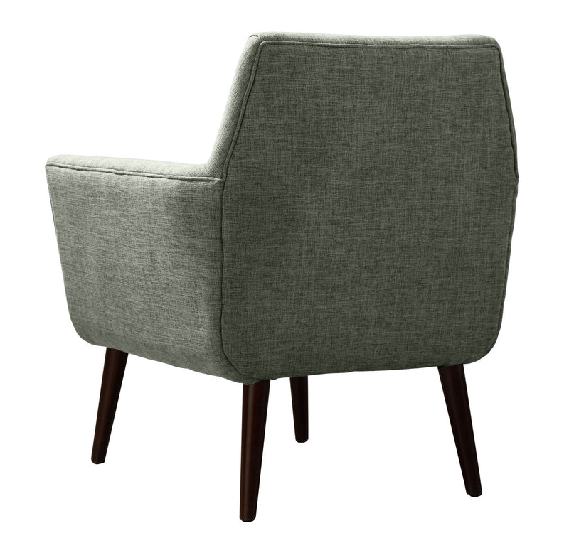 Clyde Grey Linen Accent Chair