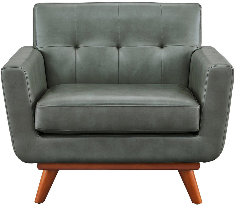 Lyon Smoke Grey Accent Chair