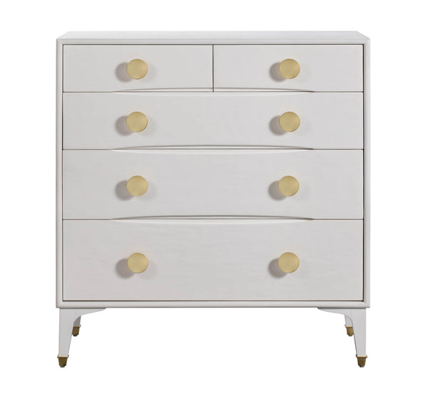 Divine White Chest Nightstand