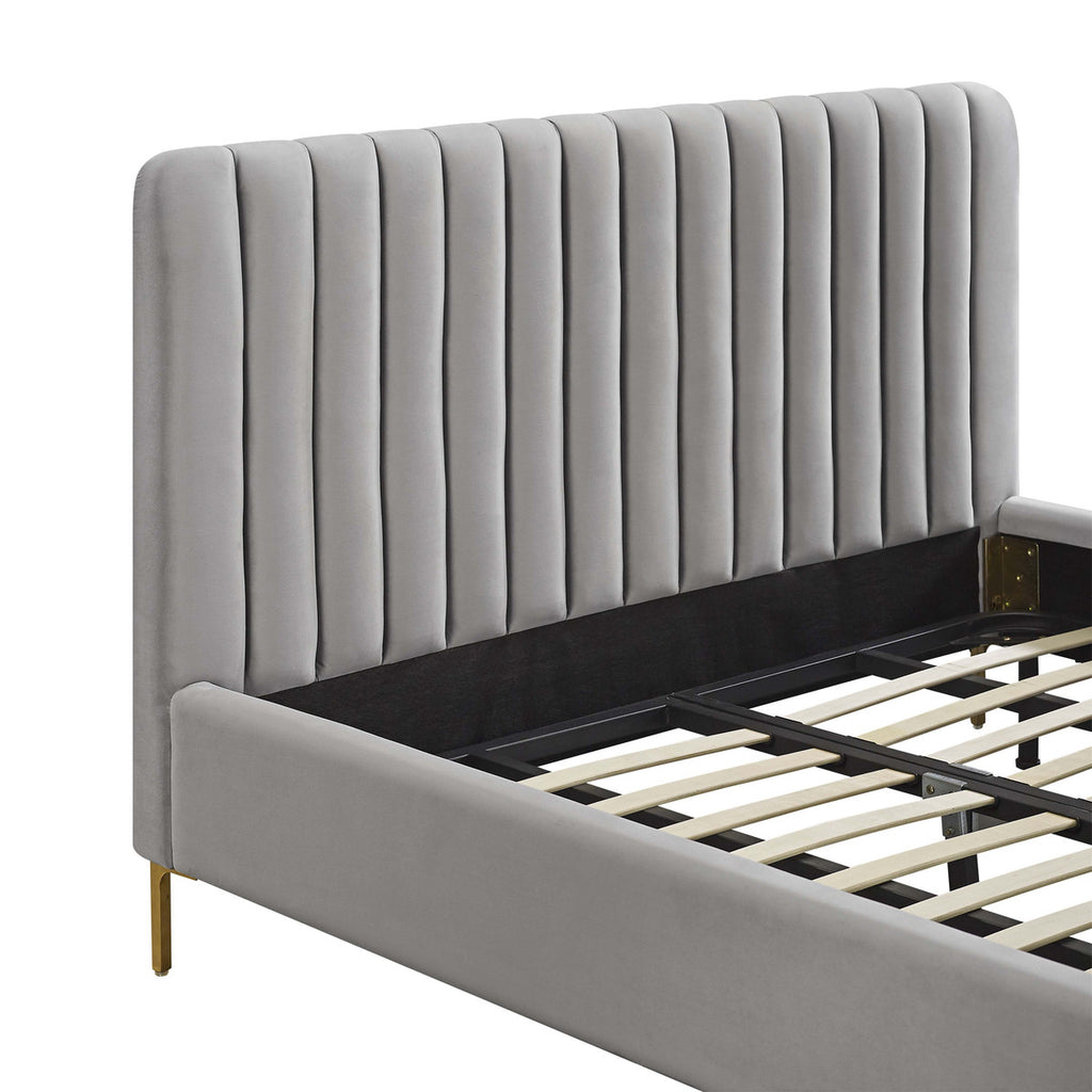 Angela Grey Bed in Queen