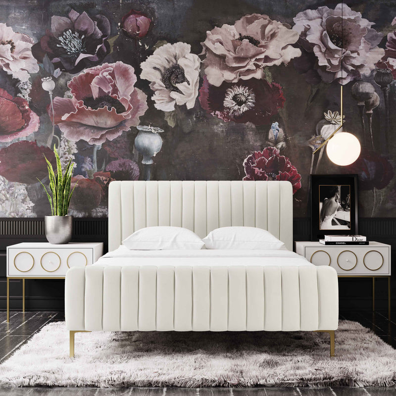 Angela Cream Bed in King