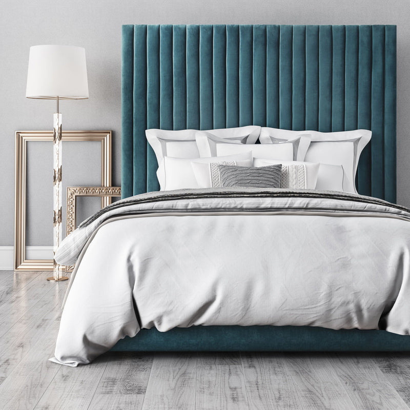 Arabelle Sea Blue Bed in King