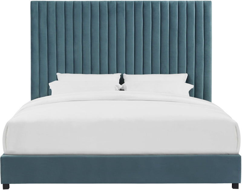 Arabelle Sea Blue Bed in Queen