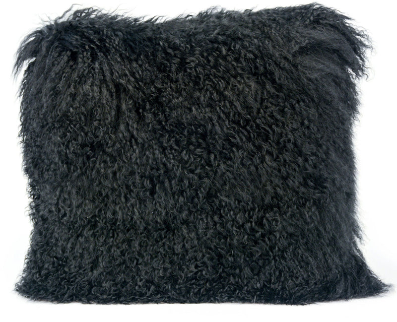 Tibetan Sheep Black Pillow