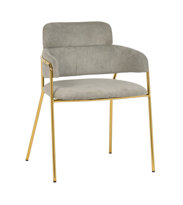 Karl Grey Linen Dining Chair (set of 2)