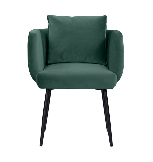 Alto Forest Green Velvet Dining Chair
