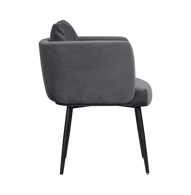 Alto Grey Velvet Dining Chair