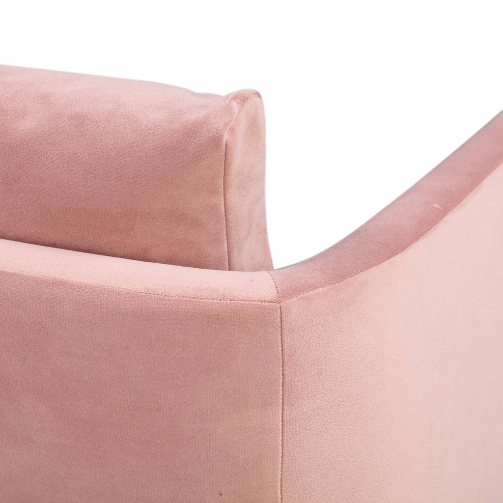 Alto Blush Velvet Dining Chair