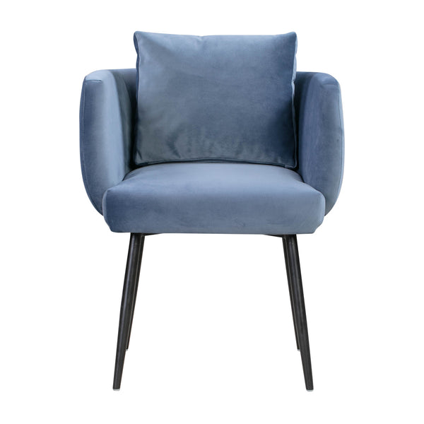 Alto Cascadia Blue Velvet Dining Chair