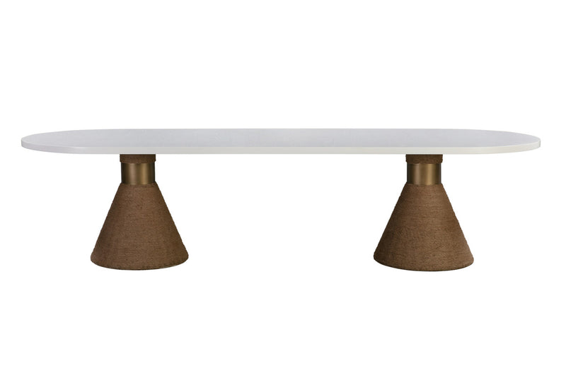 Rishi Natural Rope Dining Table
