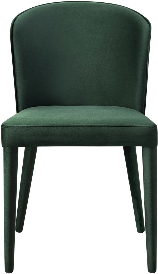 Metropolitan Forest Green Velvet Dining Chair