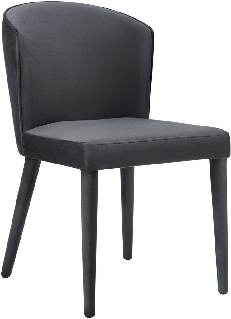 Metropolitan Grey Velvet Dining Chair