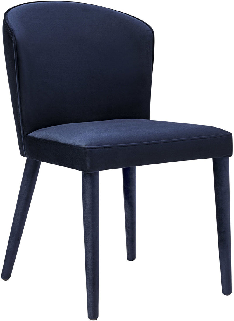 Metropolitan Navy Velvet Dining Chair