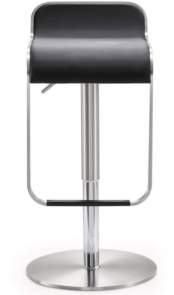 Napoli Black Steel Adjustable Barstool