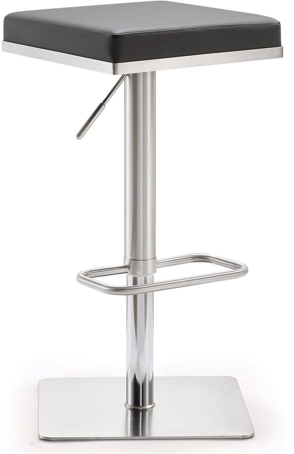 Bari Grey Stainless Steel Barstool