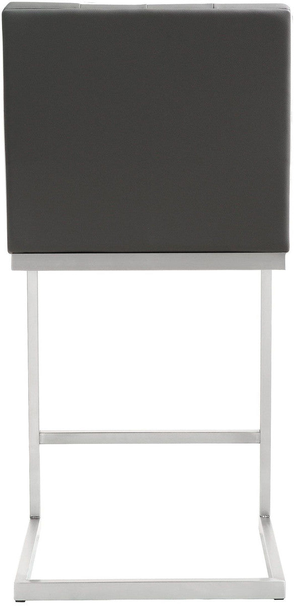 Helsinki Grey Steel Counter Stool