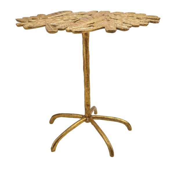 Freesia Gold Side Table