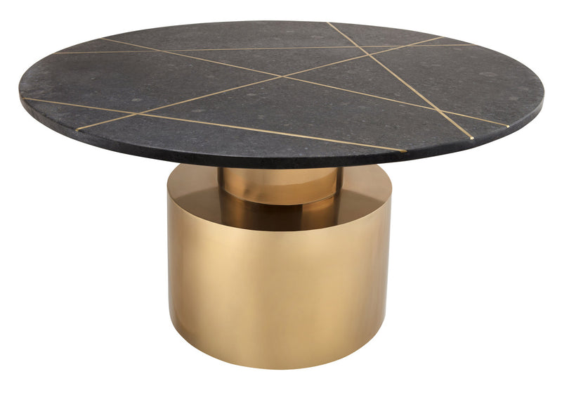 Terzo Black Marble Coffee Table