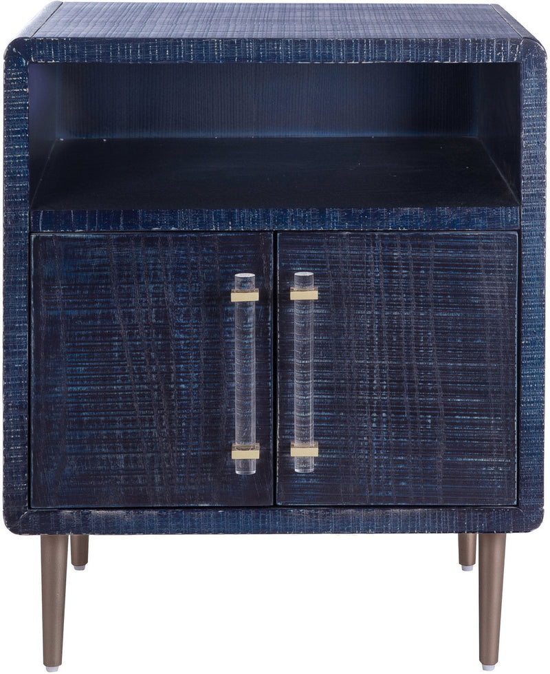 Marco Lacquer Indigo Side Table
