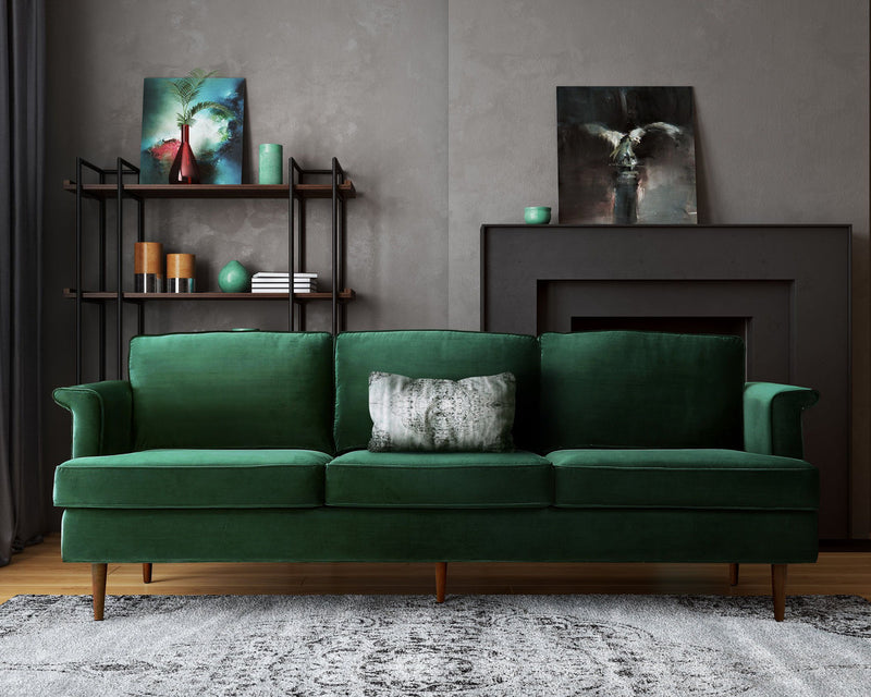 Porter Forest Green Sofa