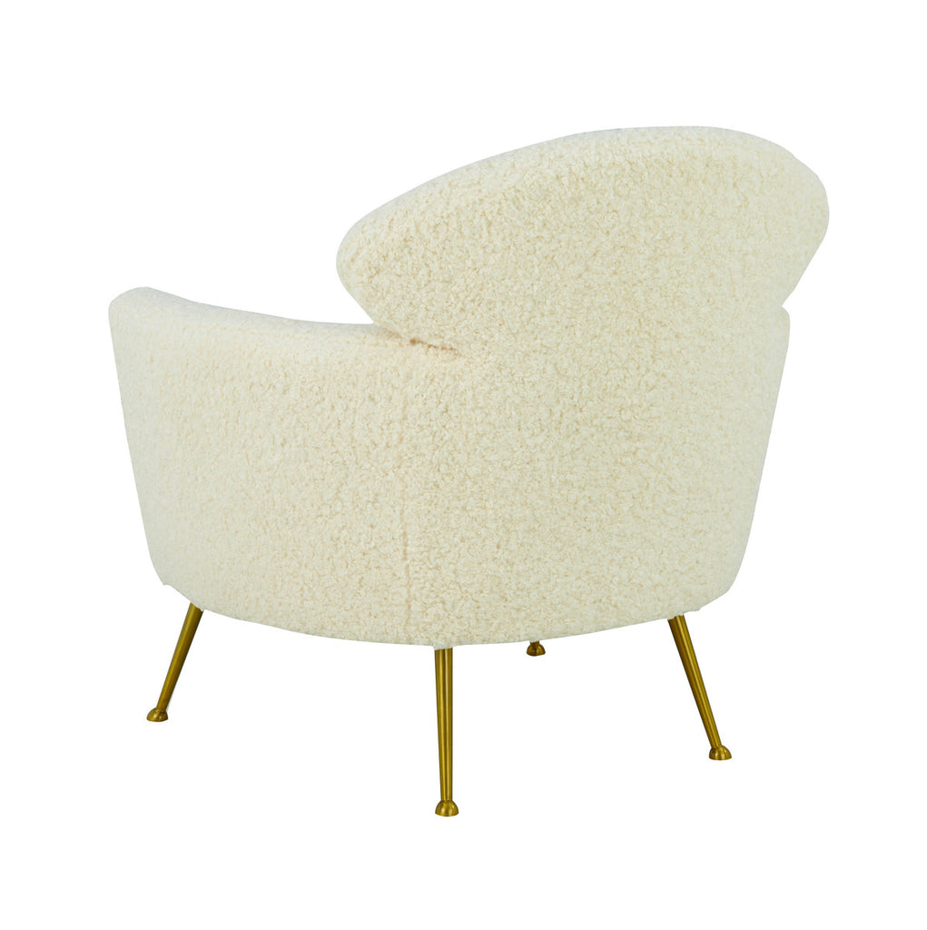 Welsh Faux Shearling Accent Chair