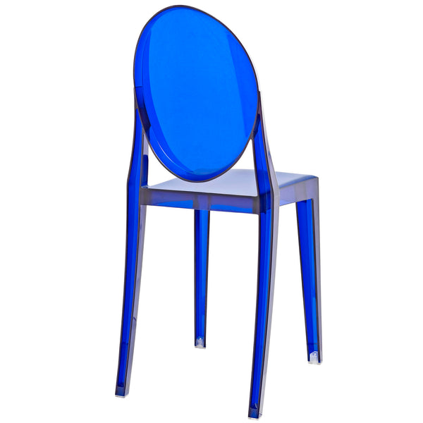 Casper Dining Chairs Set of 4 - Blue