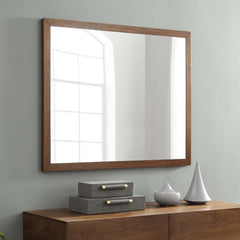 Caima Mirror - Walnut