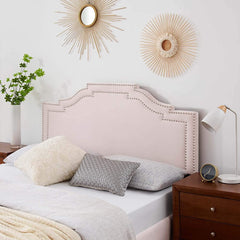 Lucia Twin Performance Velvet Headboard