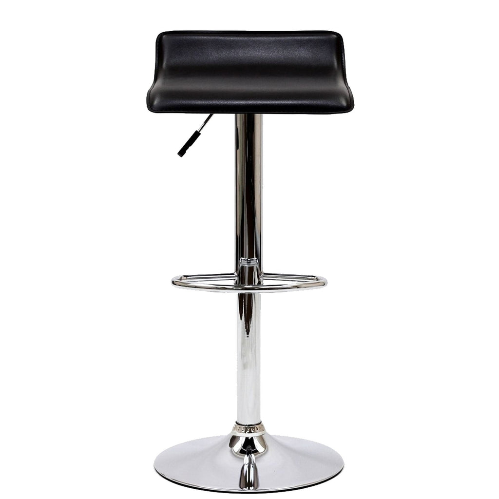 Gloria Bar Stool Set of 2 - Black