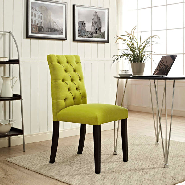 Duchess Fabric Dining Chair in Wheatgrass