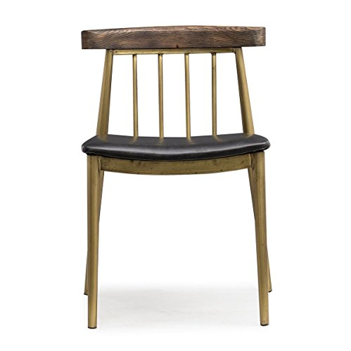 Alfie Brown Dining Chair - Set of 2