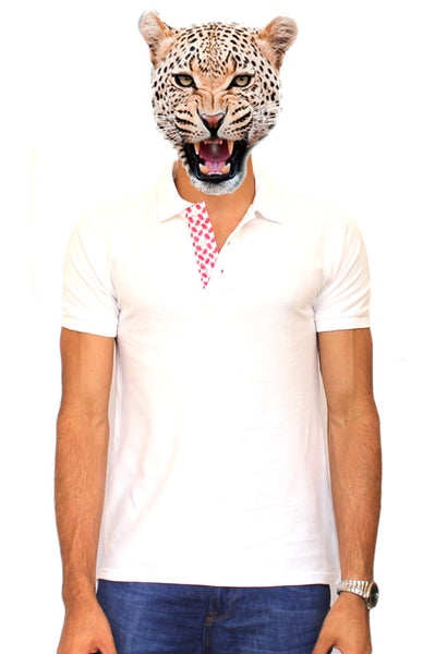 White Shemagh Polo