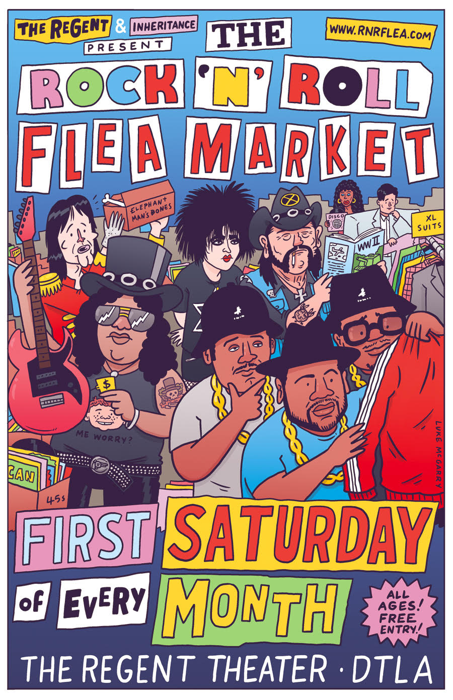 Rock and Rock Flea Market Flyer