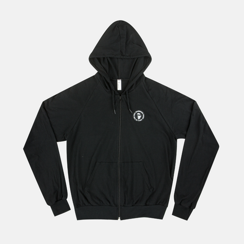 100% Lightweight Zip-Up
