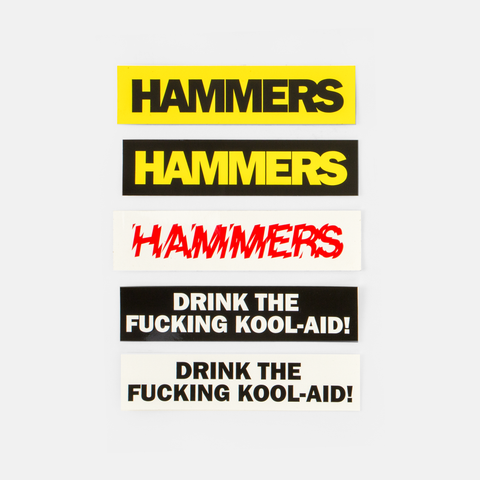 HAMMERS BUMPER STICKERS