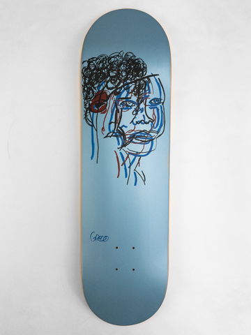 The Hammers USA Deck - Columbia Blue 8.625