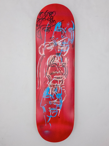 "8.675"" Hand Painted Deck #11"