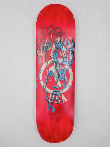 "8.675"" Hand Painted Deck #13"